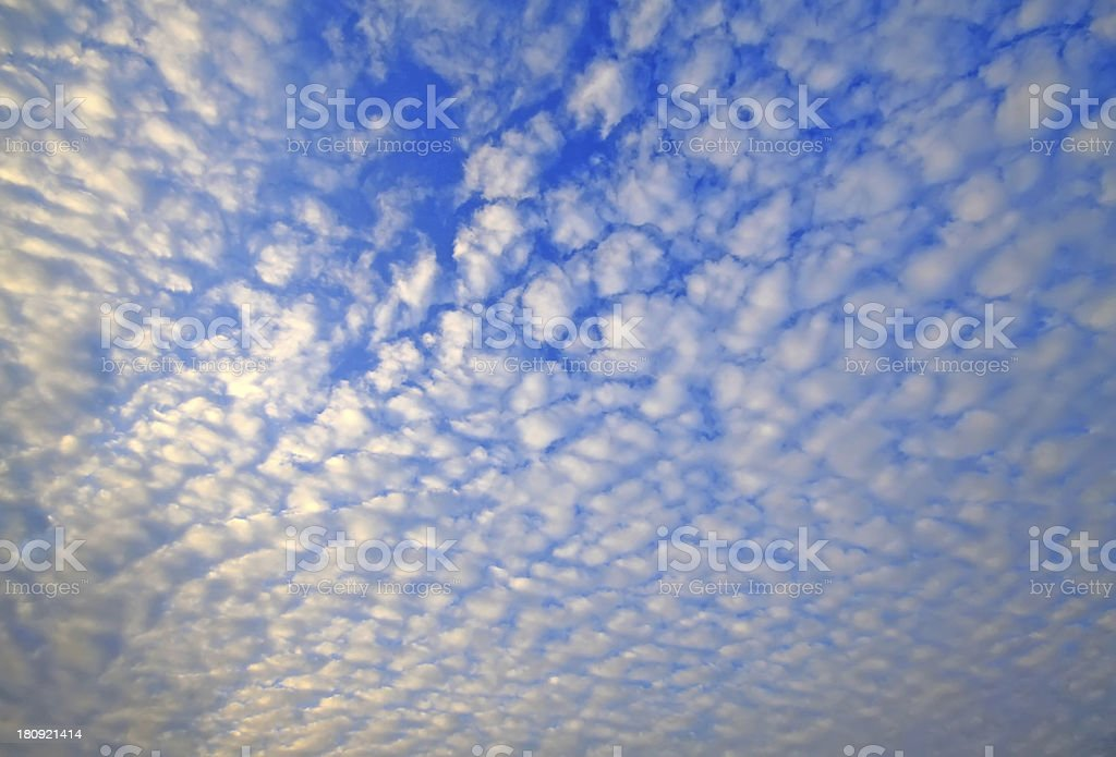 blue sky and white cloud royalty-free stock photo