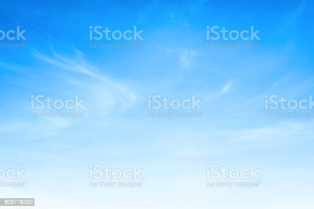 Photo of Blue sky and white clouds background