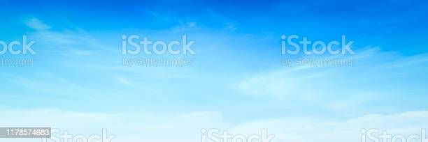 Photo of Blue sky and white clouds
