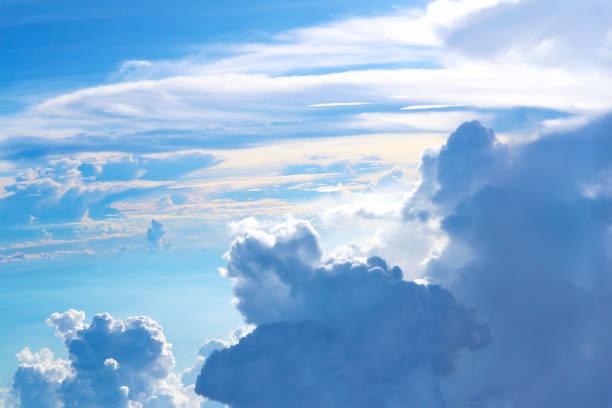 青い空と白い雲 ストックフォト