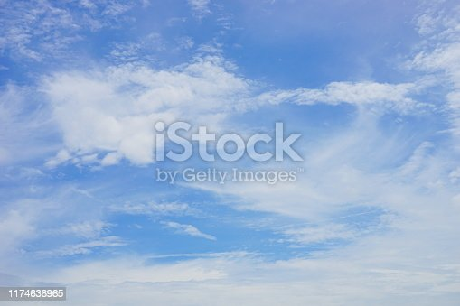 Japan, Thailand, Sky Only, Blue, No People