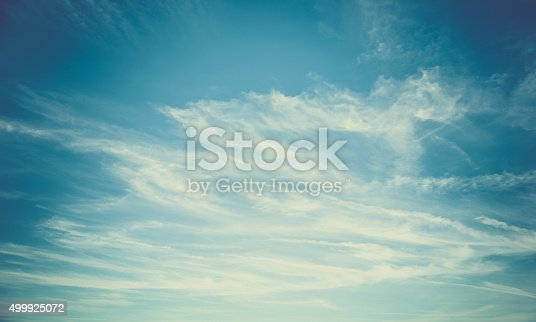 istock Blue sky background 499925072