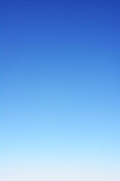 Blue sky background. stock photo