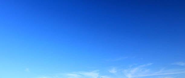 Blue sky background. stock photo