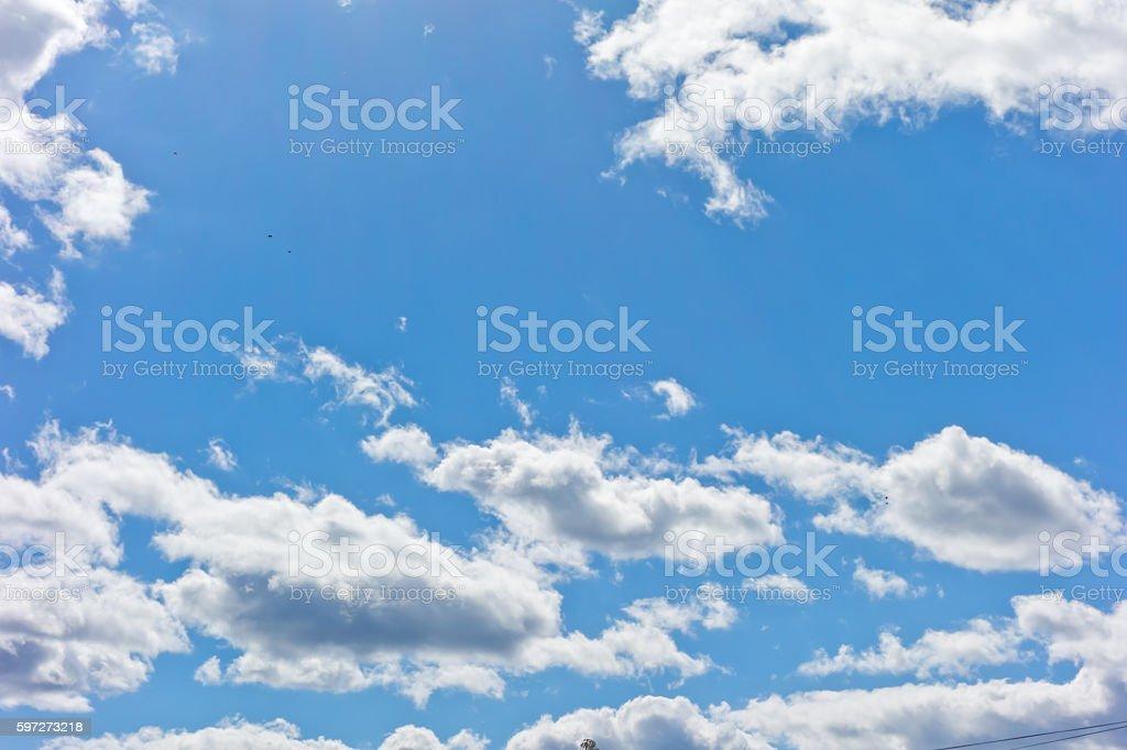 Blauer Himmel Hintergrund  Lizenzfreies stock-foto
