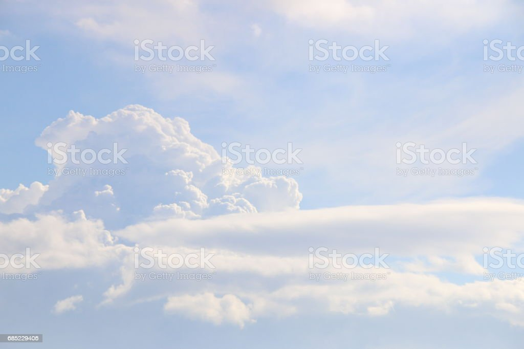 Blue sky background foto de stock royalty-free