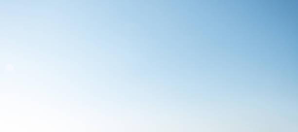 blauer Himmel, die unscharf Hintergrund – Foto