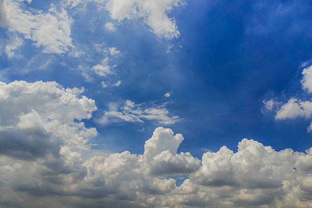 Blue sky clouds  background stock photo
