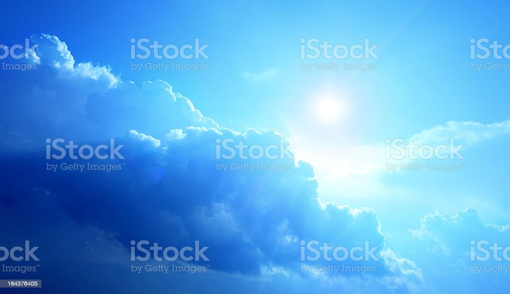 Blue Sky - Cloudscape royalty-free stock photo