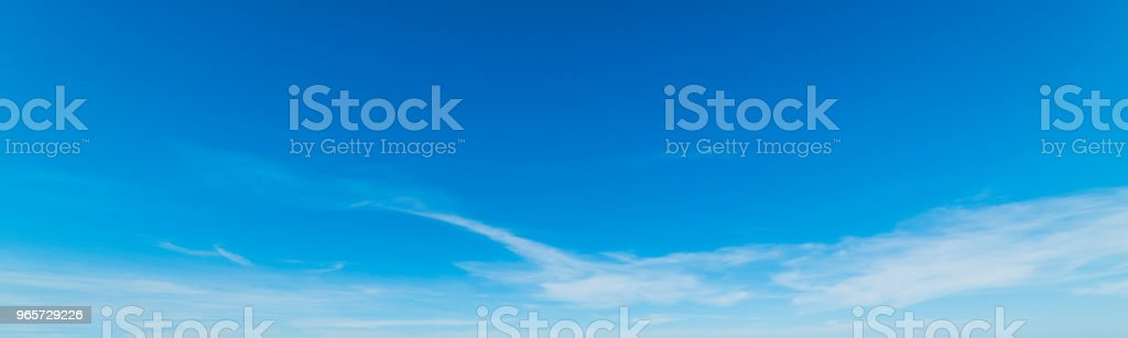Blue sky in spring - Royalty-free Atmosphere Stock Photo
