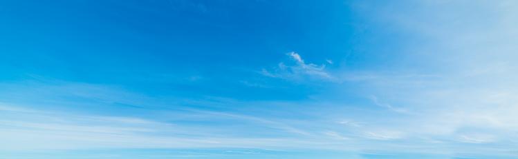 Blauwe Hemel In De Lente Stockfoto en meer beelden van Afbeelding