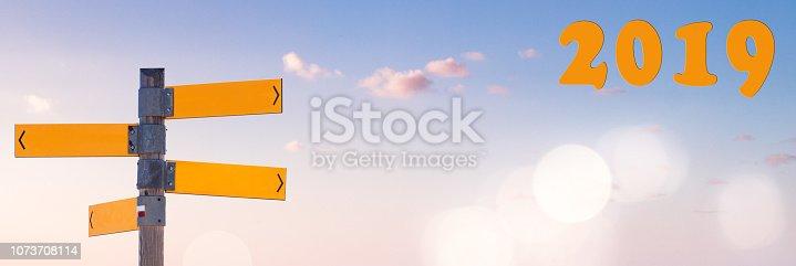 istock Blue Sky Panorama 1073708114