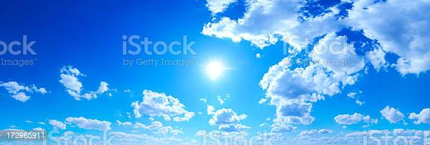 Blue Sky Panorama Stock Photo - Download Image Now