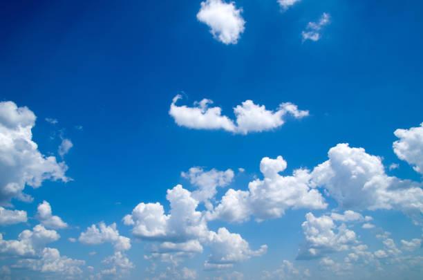 푸른 하늘 스톡 사진