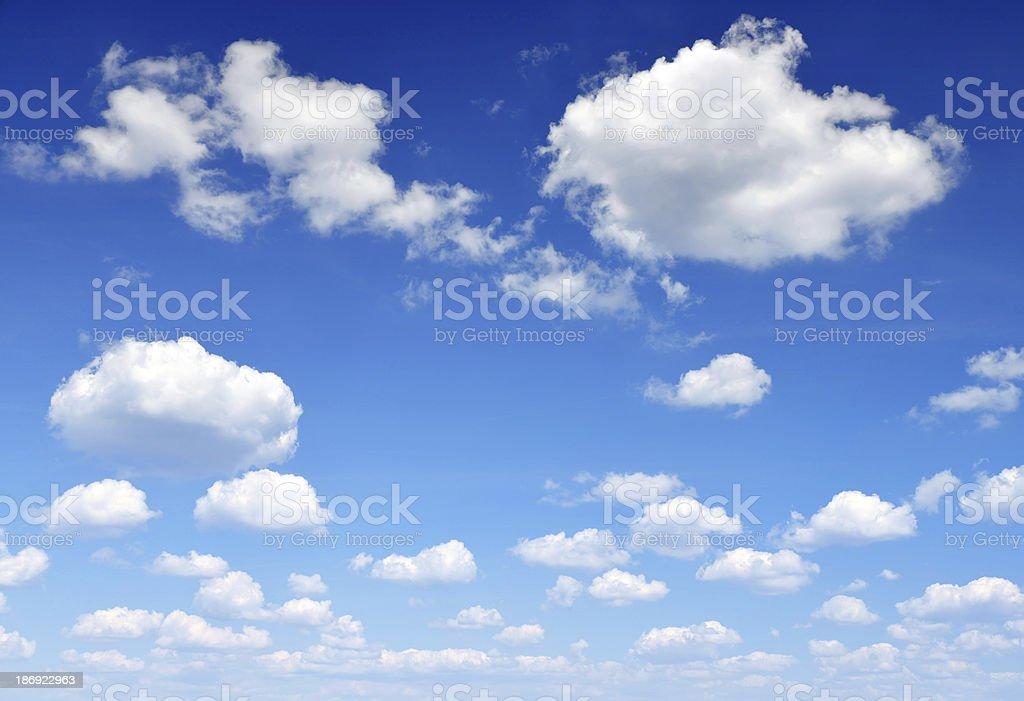blue sky - Royalty-free Backgrounds Stock Photo