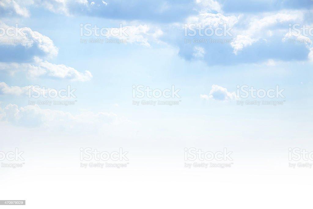 Blu sky - foto stock
