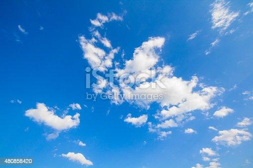 istock Blue sky 480858420