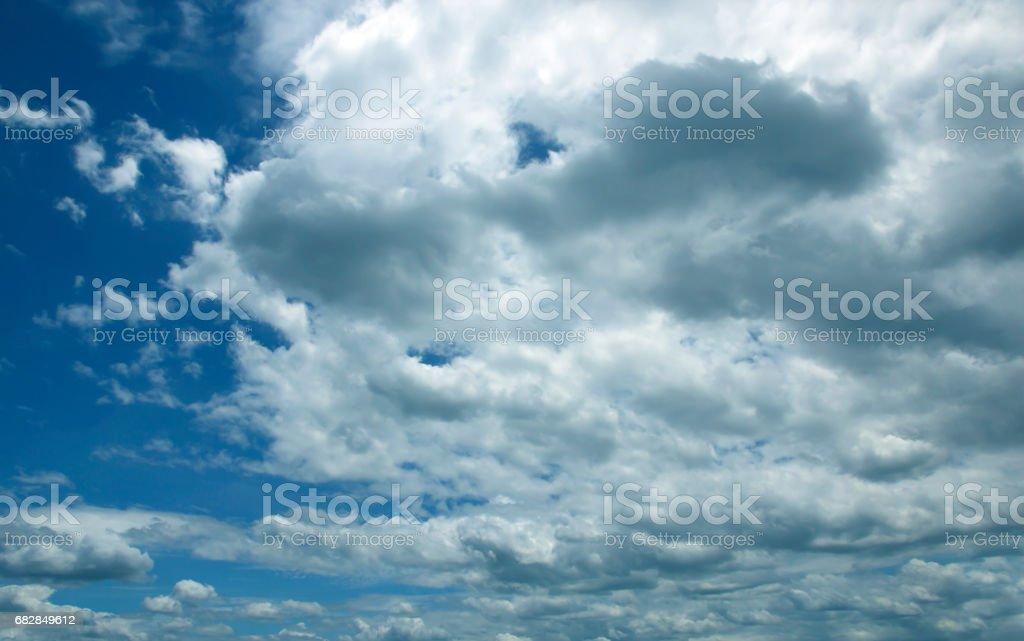 blue sky Lizenzfreies stock-foto