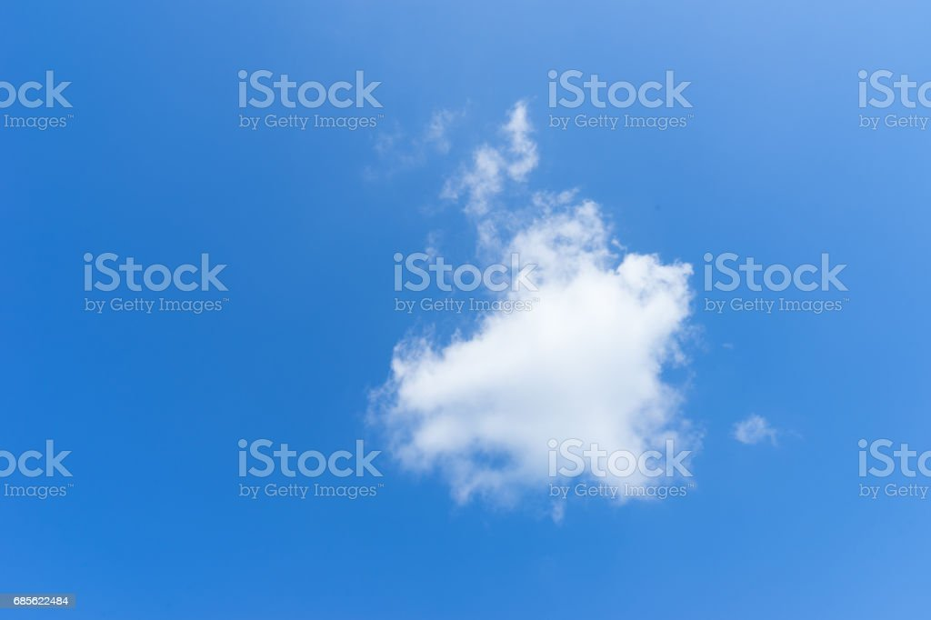 藍藍的天空 免版稅 stock photo