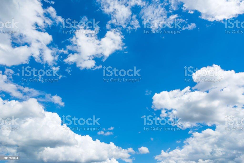 Blue sky foto stock royalty-free