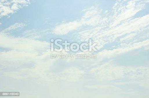 istock Blue sky 686149040