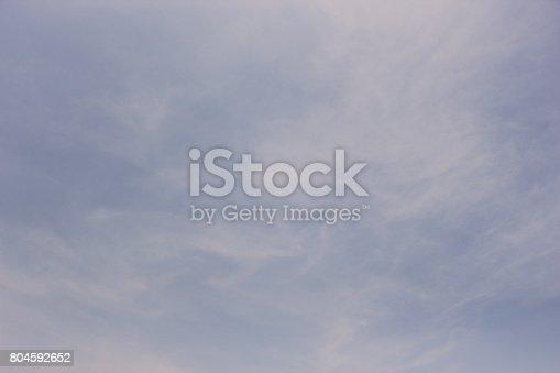 istock Blue sky 804592652