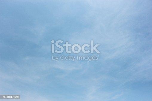 istock Blue sky 804592686
