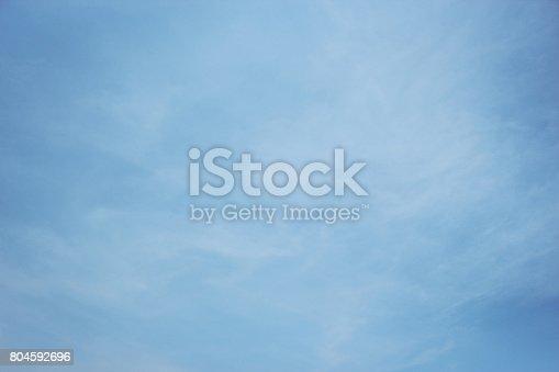 istock Blue sky 804592696