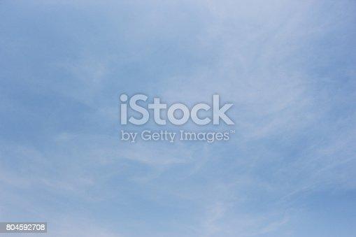 istock Blue sky 804592708