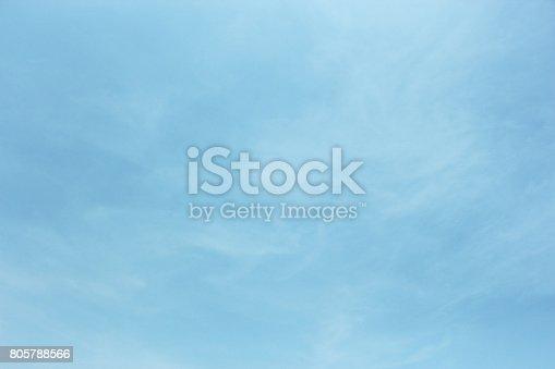 istock Blue sky 805788566