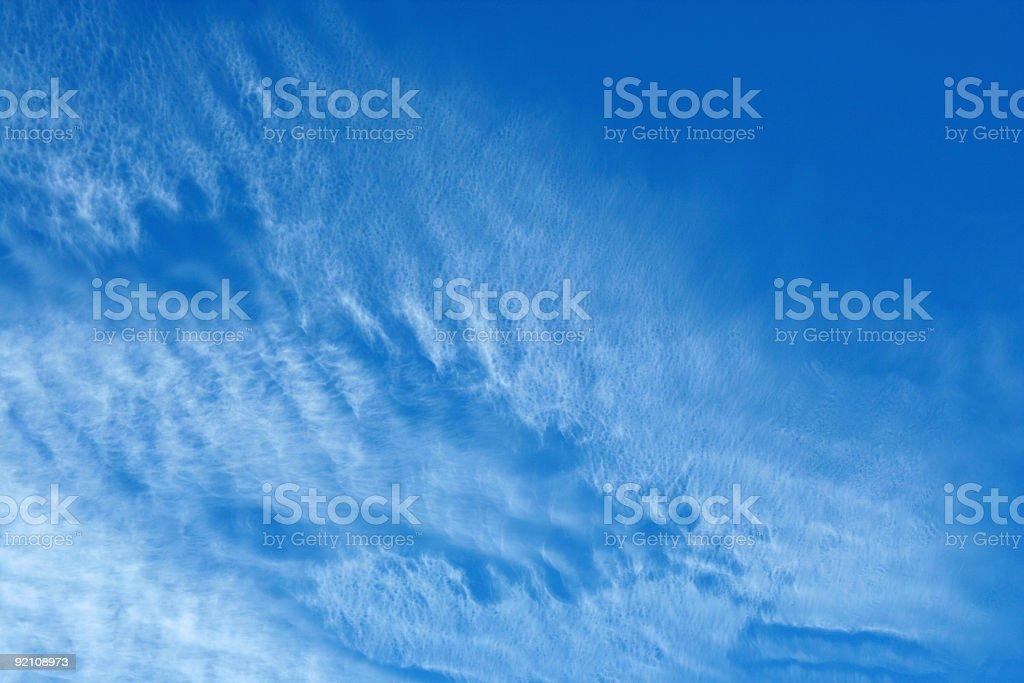 Blue sky royalty-free stock photo