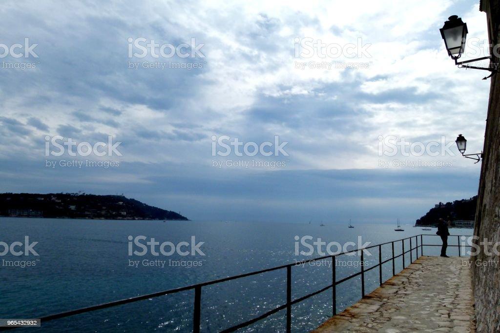 Céu azul - Foto de stock de Beleza natural - Natureza royalty-free