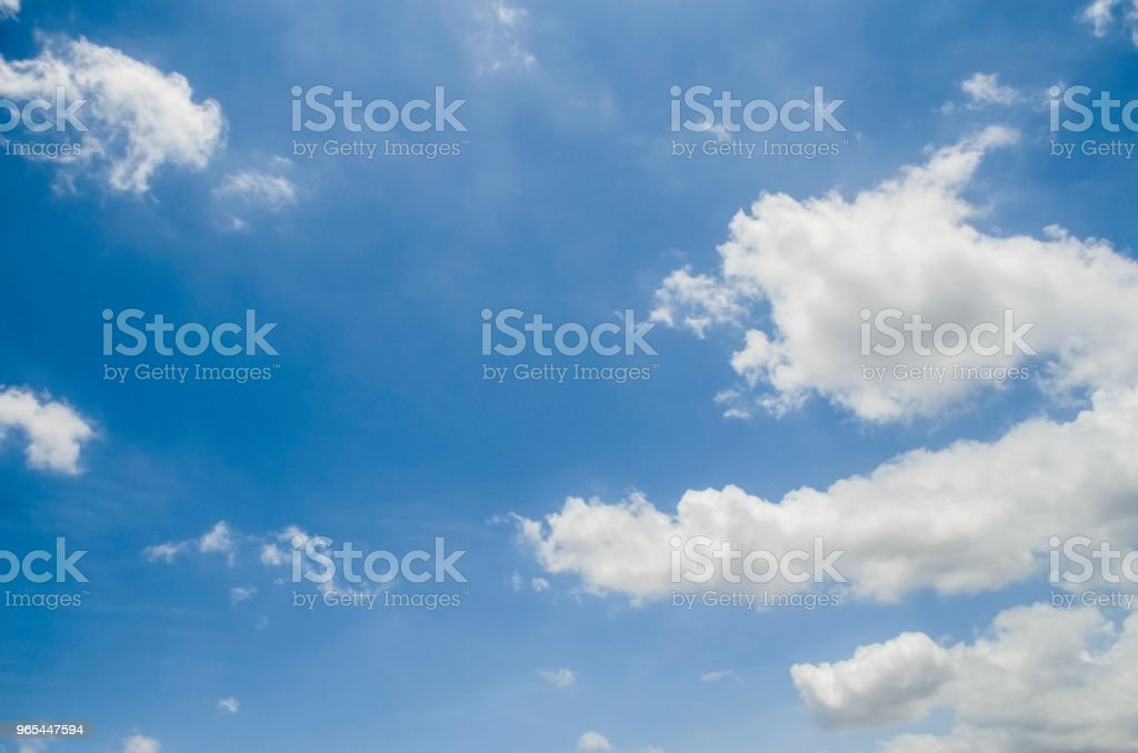 Blue sky zbiór zdjęć royalty-free