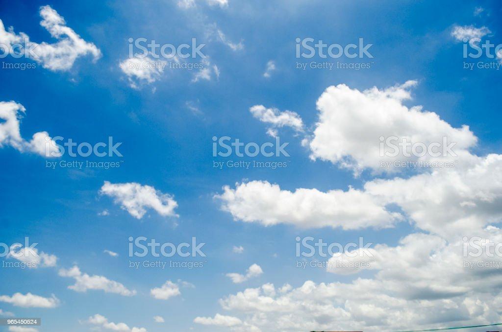 Blue Himmel - Lizenzfrei Abstrakt Stock-Foto