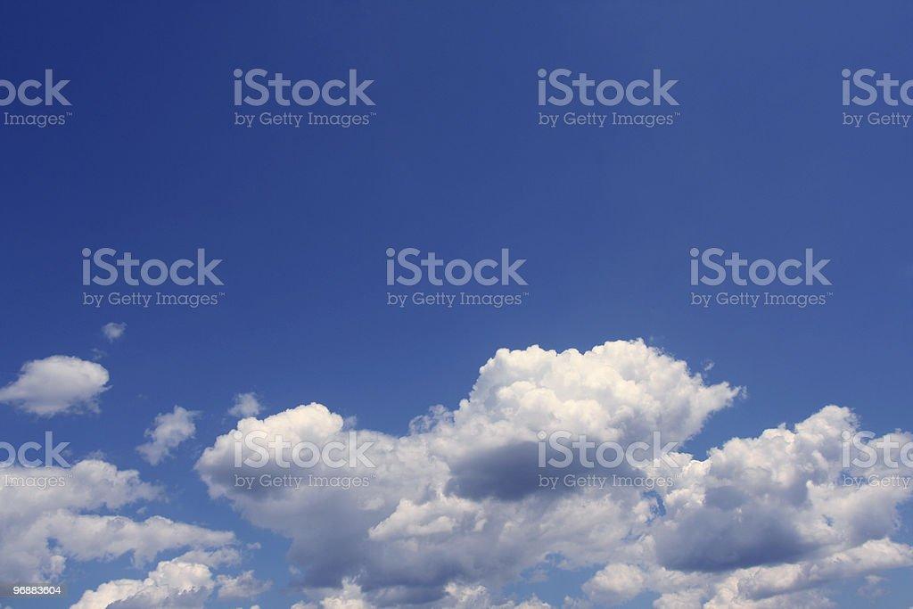 Blue Himmel Lizenzfreies stock-foto