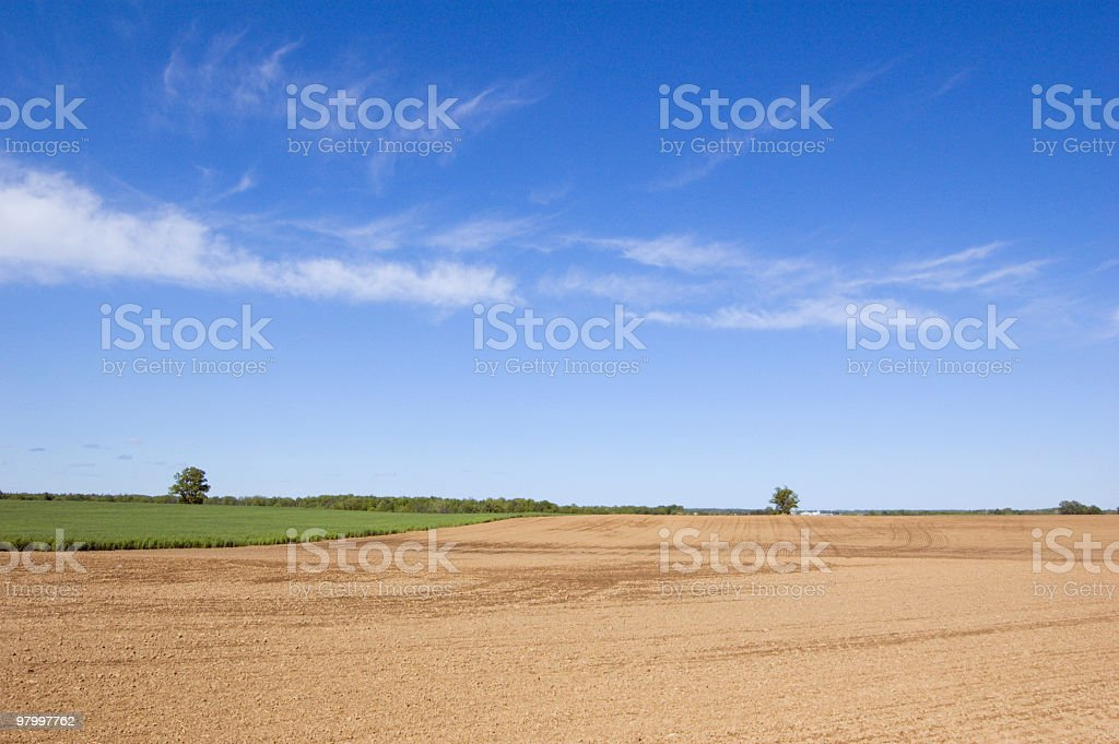 blue sky royalty free stockfoto