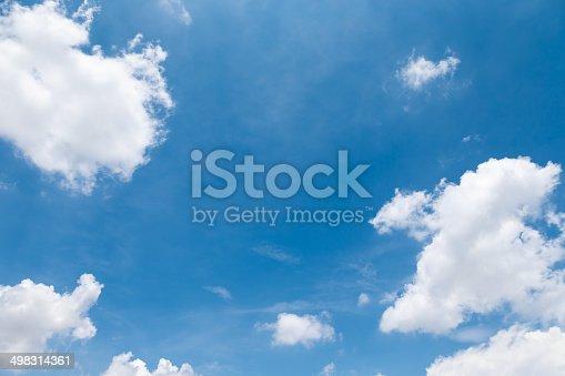 istock blue sky white cloud No. 13 498314361