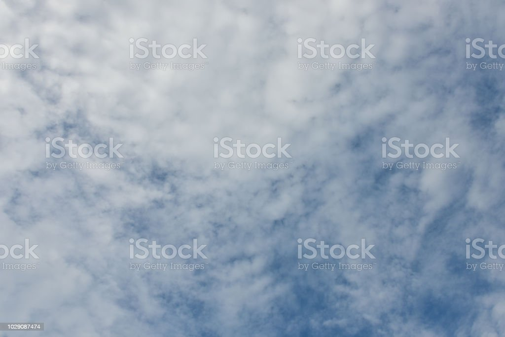 Blue sky white cloud white background. Beautiful sky and clouds in...