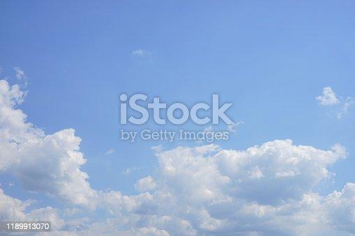 Natural cloudscape for copy space.