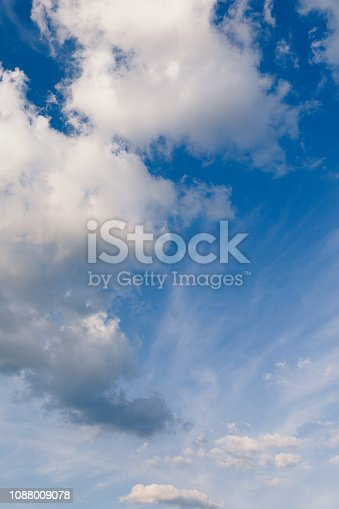 186849963istockphoto Blue sky with cloud background 1088009078