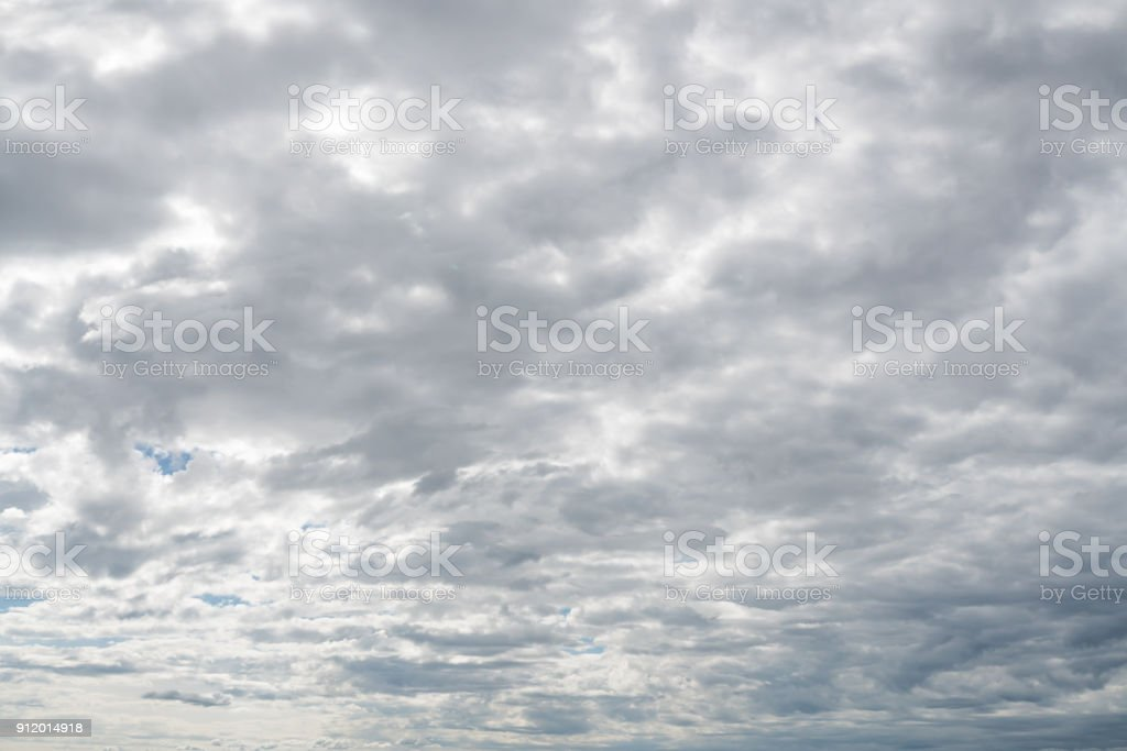 blue sky with cloud background stock photo