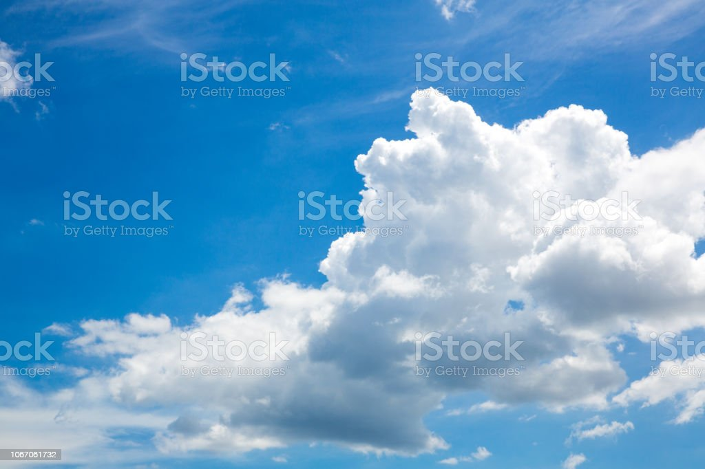 blue sky with cloud closeup.beautiful blue sky with clouds...
