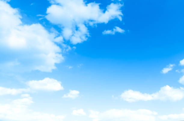 blue sky with cloud - cloud sky stock pictures, royalty-free photos & images