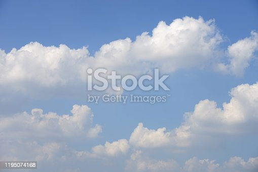 157673091istockphoto Blue sky with cloud 1195074168