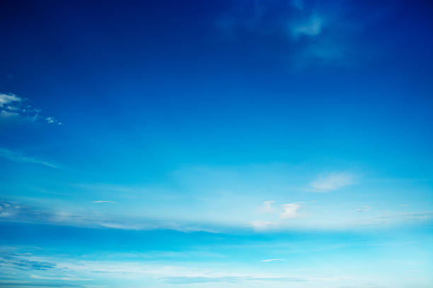 blue sky with cloud - clear sky stock pictures, royalty-free photos & images