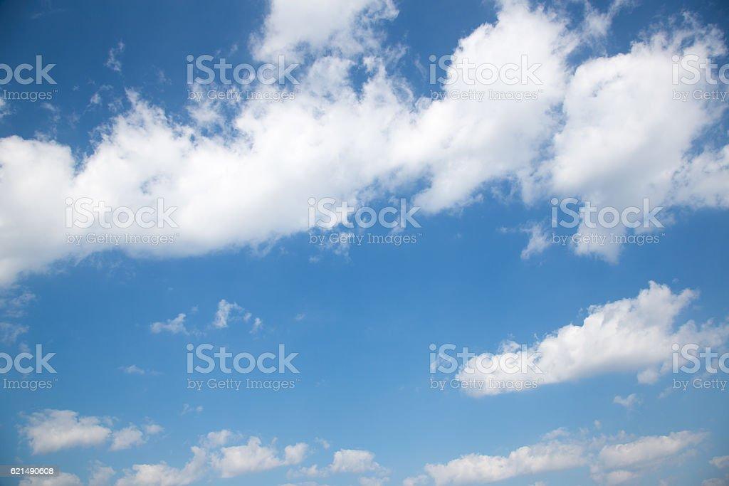 Blauer Himmel mit Wolken  Lizenzfreies stock-foto
