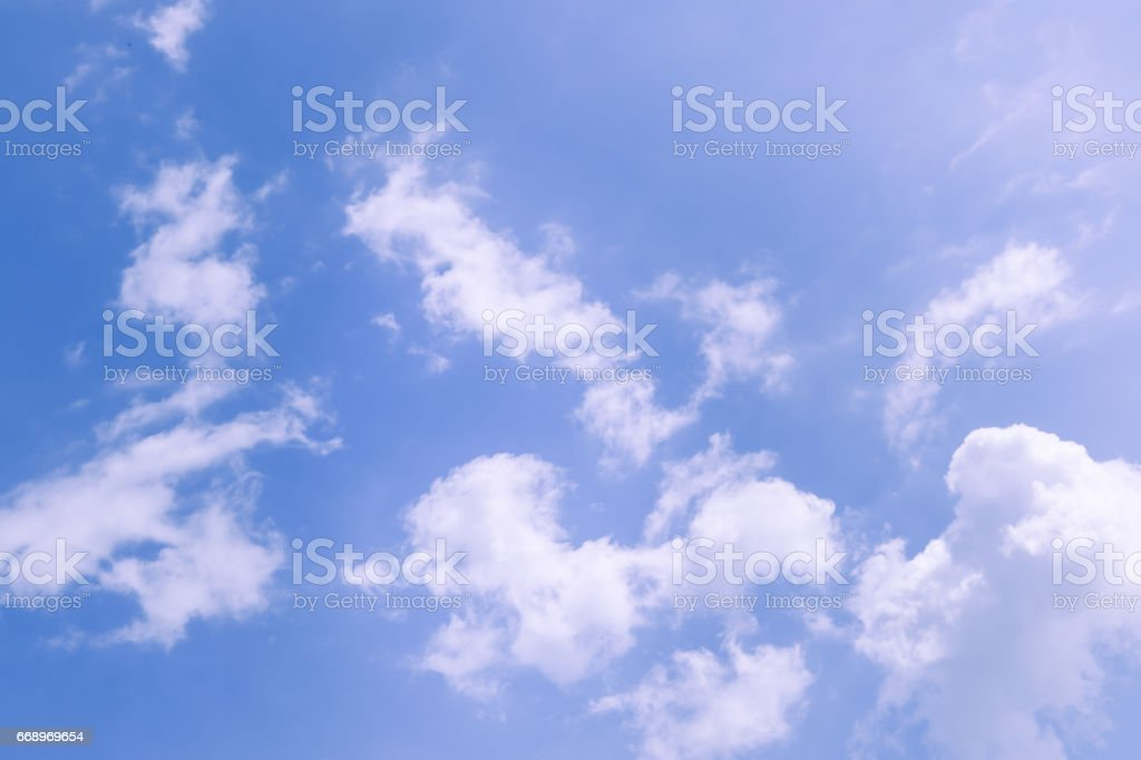 blue sky with cloud foto stock royalty-free