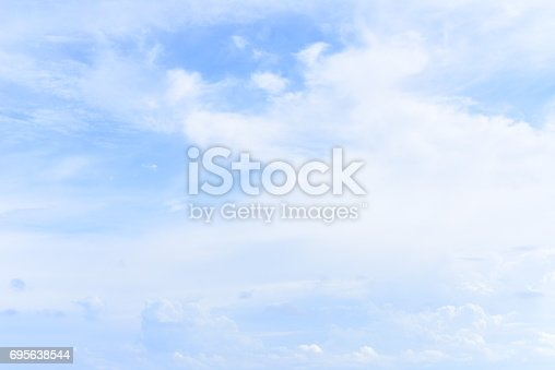 istock blue sky with cloud 695638544