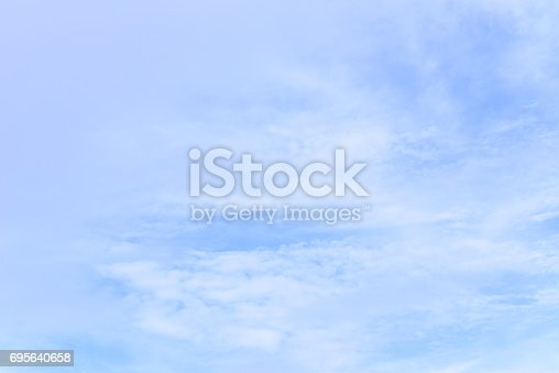 istock blue sky with cloud 695640658