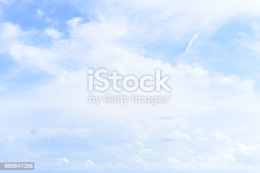 istock blue sky with cloud 695641056